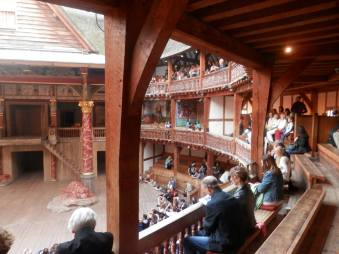 Shakespeare's Globe for the Tempest London 2013