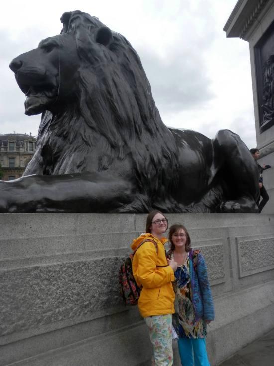 Trafalgar Square London 2013